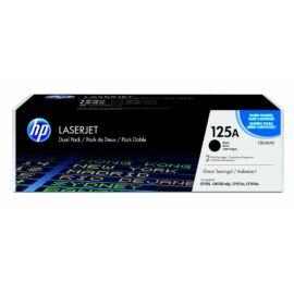 HP CB540AD 2 darabos fekete LaserJet tonerkazetta (125A)
