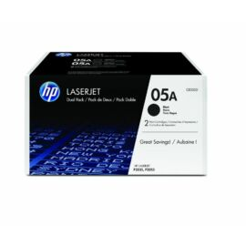 Hp Ce505D 2-Pack Fekete Toner (05A)