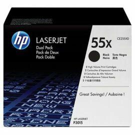 HP CE255XD fekete toner