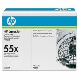 HP CE255X fekete toner (55X)
