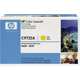 HP C9722A sárga toner