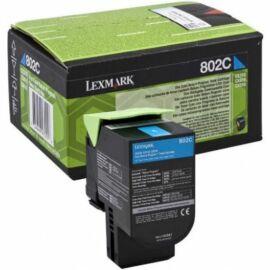 Lexmark 802C festékkazetta ciánkék /80C20C0/