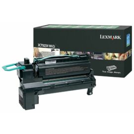 Lexmark X792 extra nagy kapacitású festékkazetta fekete /X792X1KG/