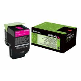 Lexmark 802XME extra nagy kapacitású festékkazetta magenta (4k) /80C2XME/