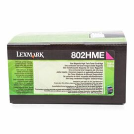 Lexmark 802HME nagy kapacitású festékkazetta magenta (3k) /80C2HME/