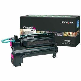 Lexmark X792 extra nagy kapacitású festékkazetta magenta /X792X1MG/