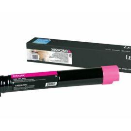 Lexmark X95x extra nagy kapacitású festékkazetta magenta /X950X2MG/