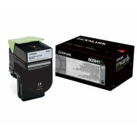 Lexmark 800H1 Nagy Kapacitású Festékkazetta Fekete /80C0H10/
