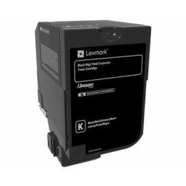 Lexmark CX725 nagy kapacitású tonerkazetta fekete (25K) /84C2HKE/