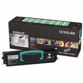 Lexmark E250A11E Fekete Toner