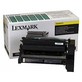 Lexmark 15G042Y sárga Toner