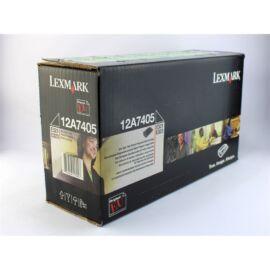 Lexmark E321/323 toner ORIGINAL 6k (12A7405)