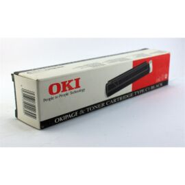 Oki 8C/TYPE C1 toner ORIGINAL black (41012301 )