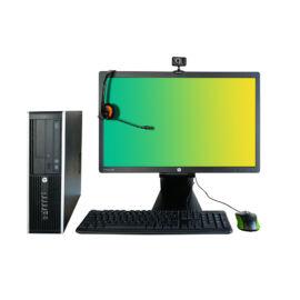Hp Compaq Pro 6300 Sff; Pentium G2020 2.9Ghz/4Gb Ram/250Gb Hdd/Intel Hd/Win10Pro64/ (Refurbished)