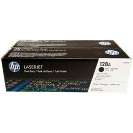 Hp Ce320Ad Toner Black 2X2K No.128A (Eredeti)