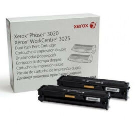 Xerox Phaser 3020,3025 Dupla Toner 2X1,5K (Eredeti)
