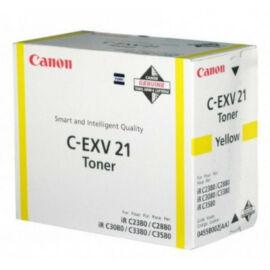 Canon C-Exv 21 Toner Yellow (Eredeti)
