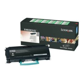 Lexmark X46X Extra High Corporate Toner 15K (Eredeti) X463X31G