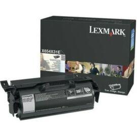 Lexmark X654/656/658 Extra High Corporate Toner 36K (Eredeti) X654X31E