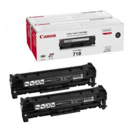 Canon Crg718 Toner Black Dupla