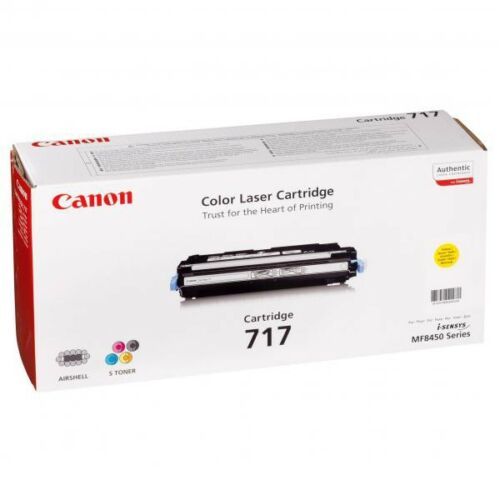 Canon CRG717 toner ORIGINAL yellow (2575B002)