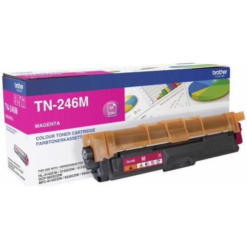 Brother Tn246M Toner Magenta