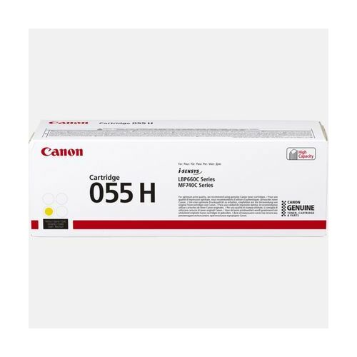 Canon 055 H nagy kapacitású tonerkazetta sárga /3017C002/