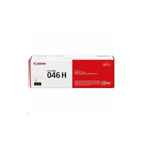 Canon 046H nagy kapacitású toner sárga /1251C002/