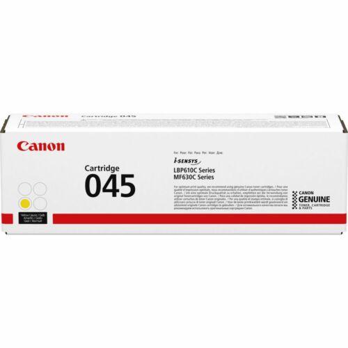 Canon 045Y Toner Sárga /1239C002/