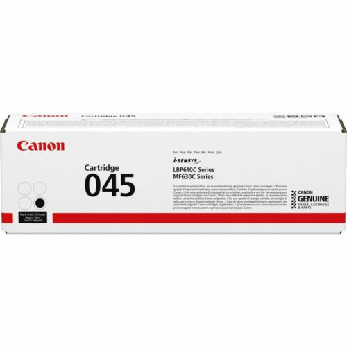 Canon 045Bk Toner Fekete /1242C002/