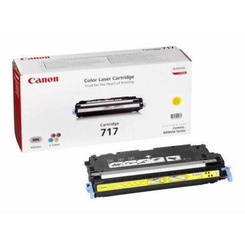 Canon CRG 717Y sárga toner