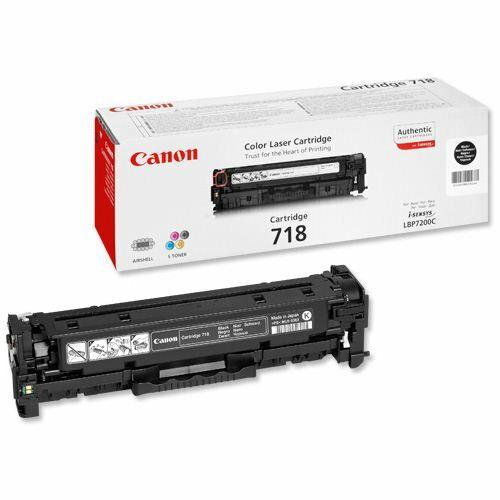 Canon CRG 718B fekete toner