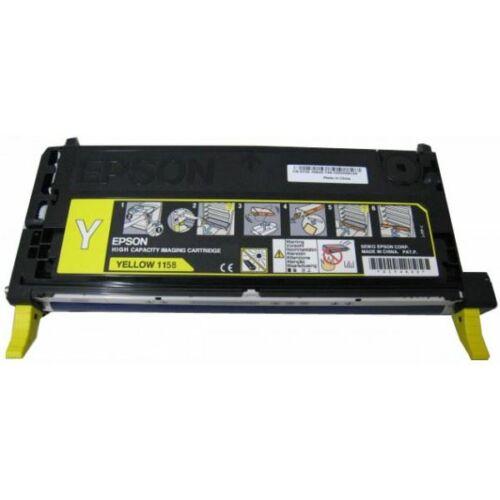 Epson C13S051158 toner sárga