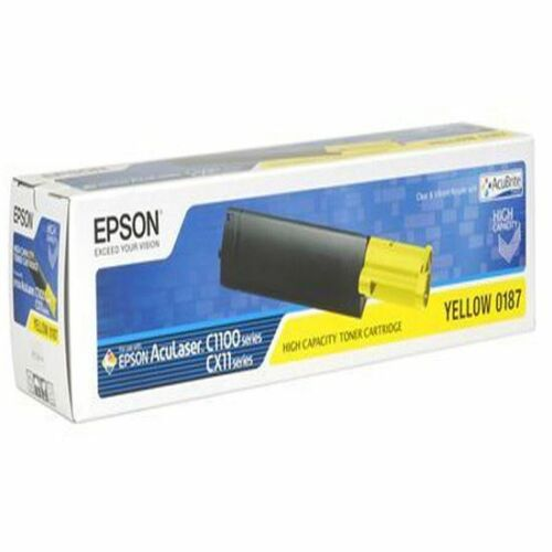 Epson C13S050187 AcuBrite toner sárga