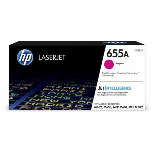 HP 655A LaserJet tonerkazetta magenta /CF453A/
