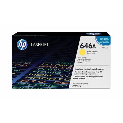 HP 646A LaserJet tonerkazetta sárga /CF032A/