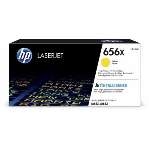 HP 656X nagy kapacitású LaserJet tonerkazetta sárga /CF462X/