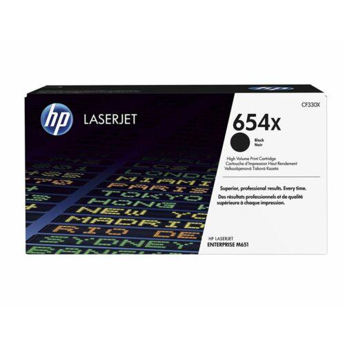 HP 654X nagy kapacitású tonerkazetta fekete /CF330X/