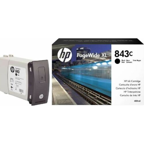 HP 843C PageWide XL 400ml toner fekete /C1Q65A/