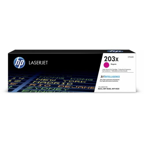 HP CF543X nagy kapacitású toner magenta (203X)