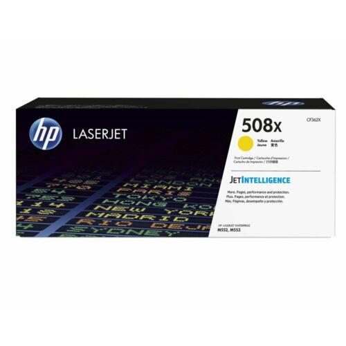 HP 508X nagy kapacitású sárga toner /CF362X/