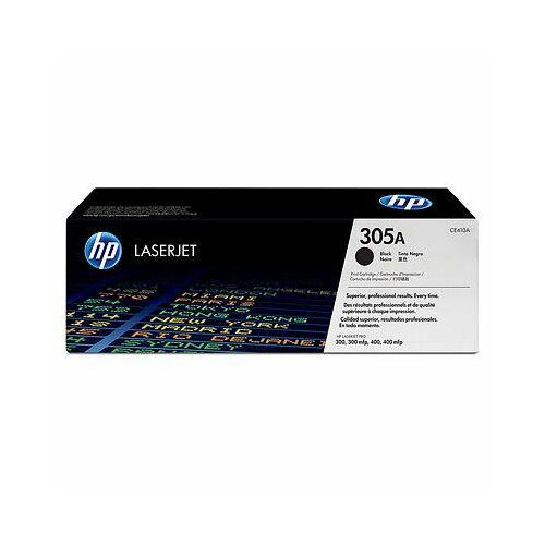 HP CE410A (305A) fekete toner