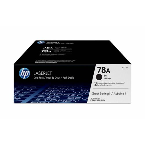 HP CE278AD fekete dupla toner (78A)