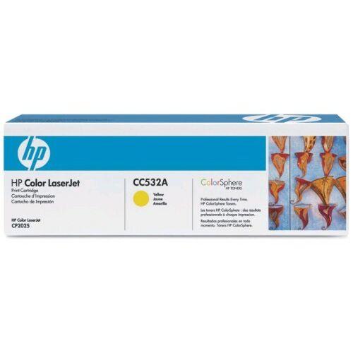 HP CC532A sárga toner