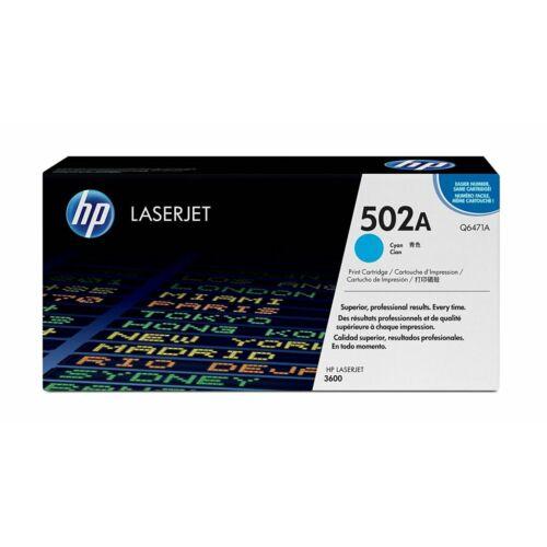 HP Q6471A kék toner (502A)