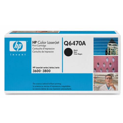 HP Q6470A fekete toner (501A)