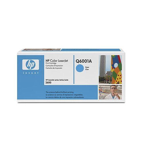 HP Q6001A kék toner (124A)