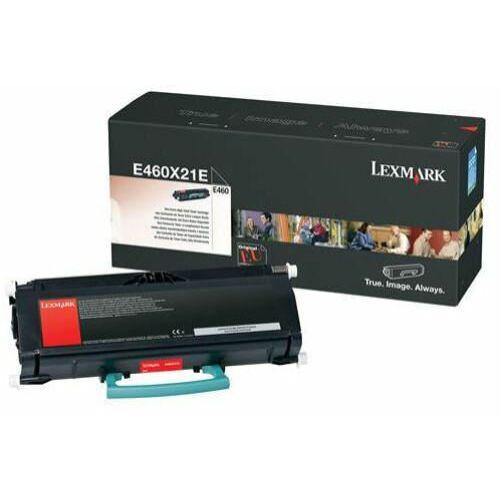 Lexmark E460 extra nagy kapacitású festékkazetta (15K) fekete /E460X21E/
