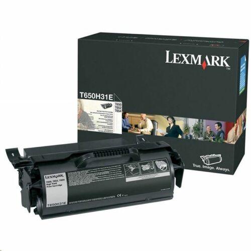 Lexmark T650H31E fekete toner