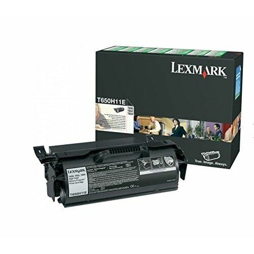 Lexmark T65x nagy kapacitású festékkazetta (25K) fekete /T650H11E/